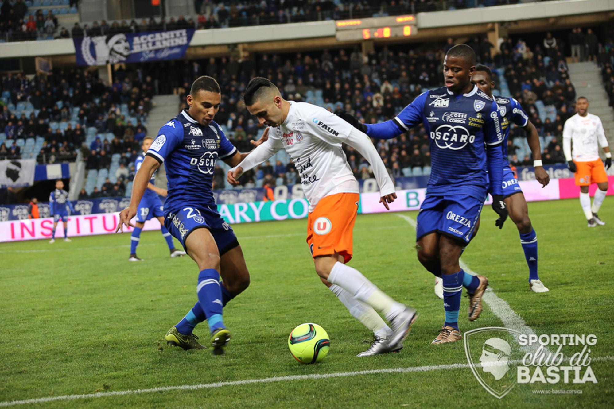 Bastia - Montpellier