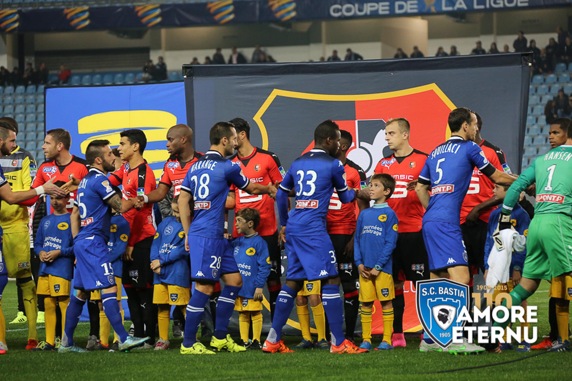 Bastia - Rennes