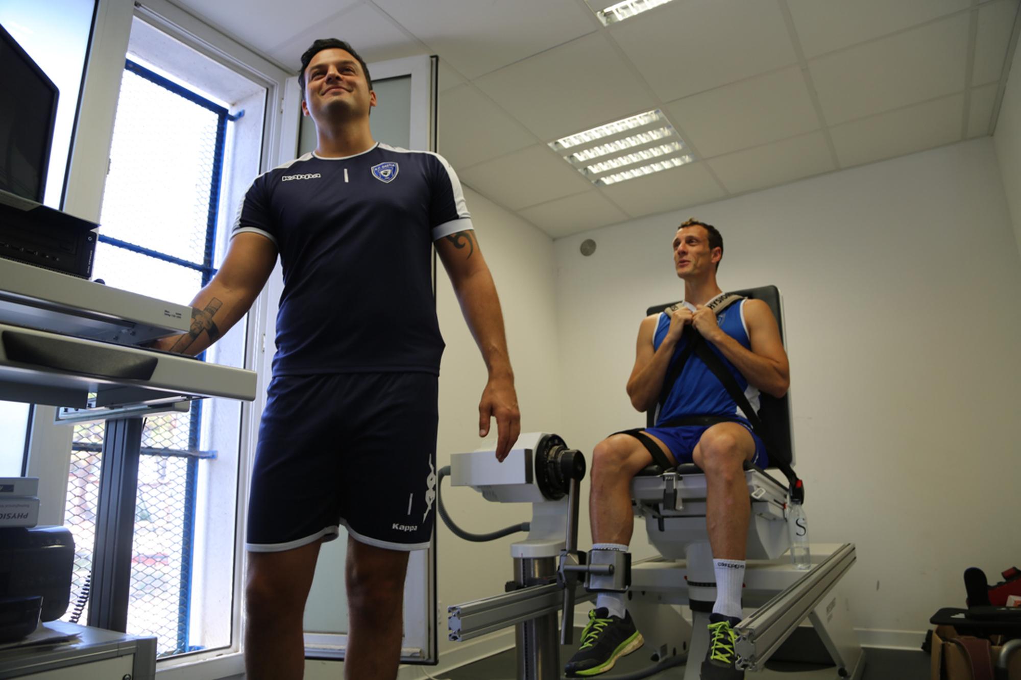 Sébastien Squillaci de retour à l'entraînement