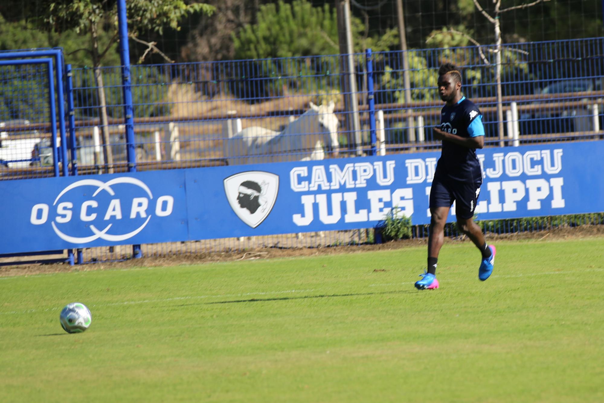 Ismaël Diallo di ritornu à l'intrenamentu