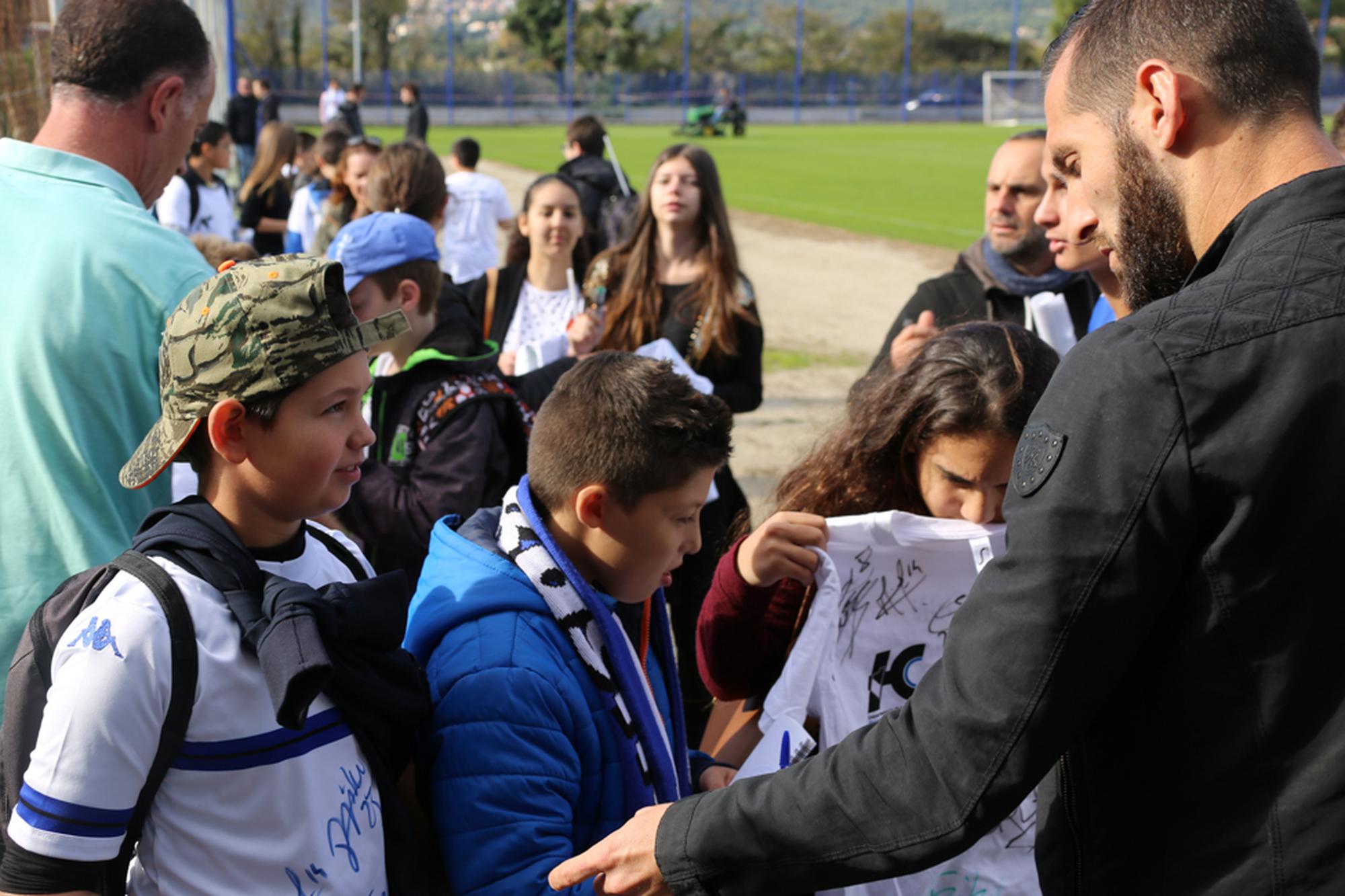 """Opération """"Jeunes supporters"""" avec le Département de la Haute-Corse"""