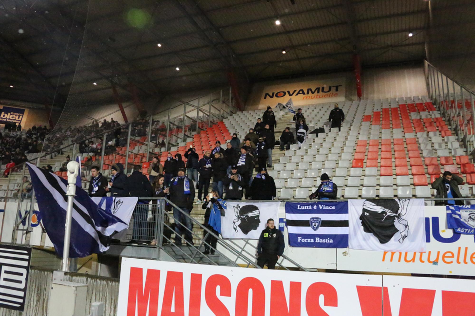 Nancy-Bastia - 14/01/16 - J20