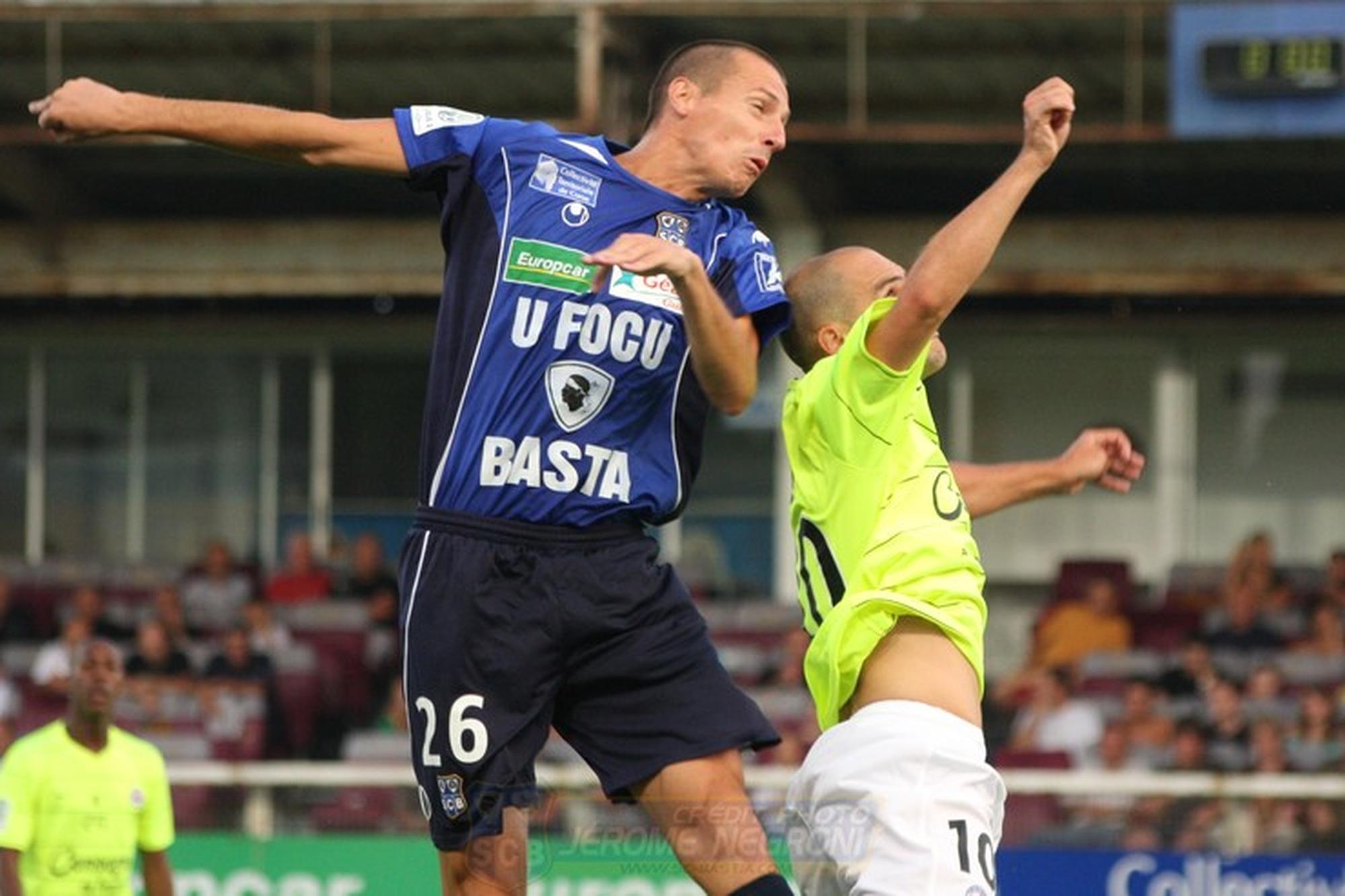 Bastia-Caen (Ligue 2)