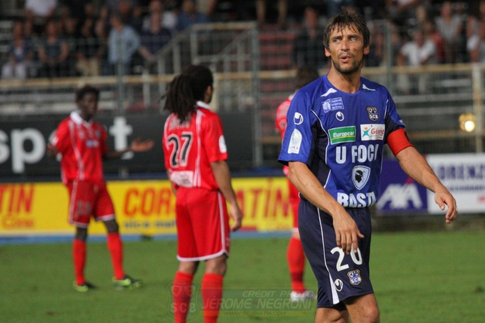 Bastia-Nîmes (Ligue 2)