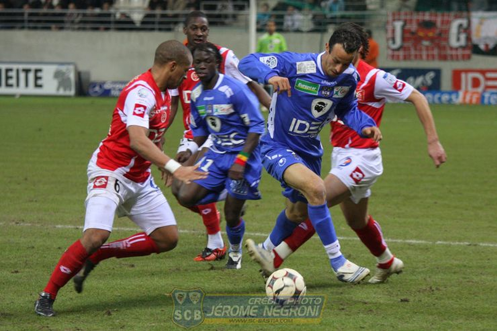 REIMS/SCB (Ligue 2)