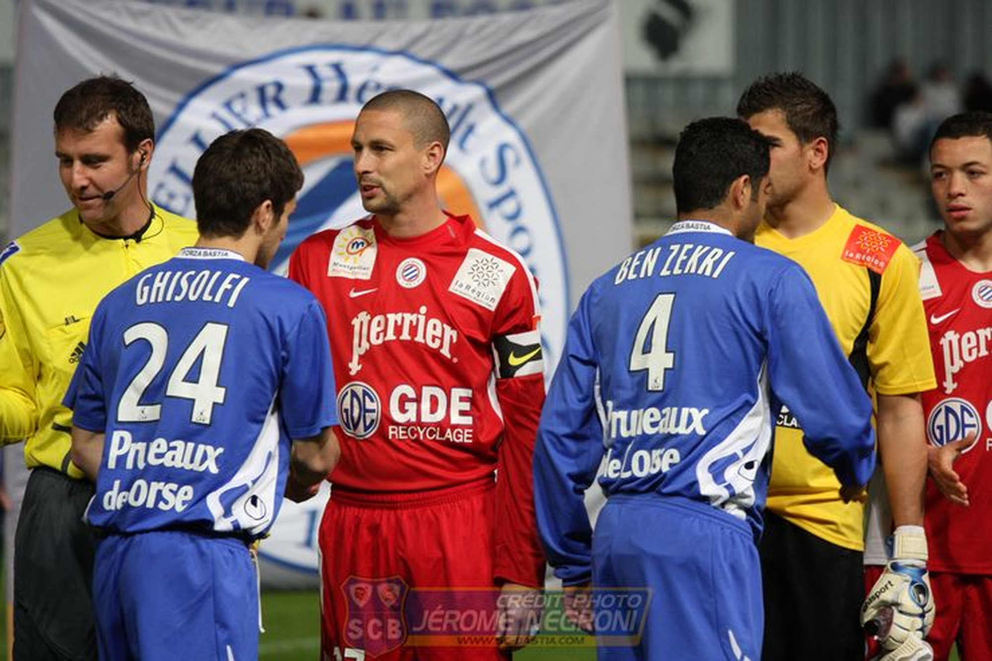 SCB/MONTPELLIER (Ligue 2)