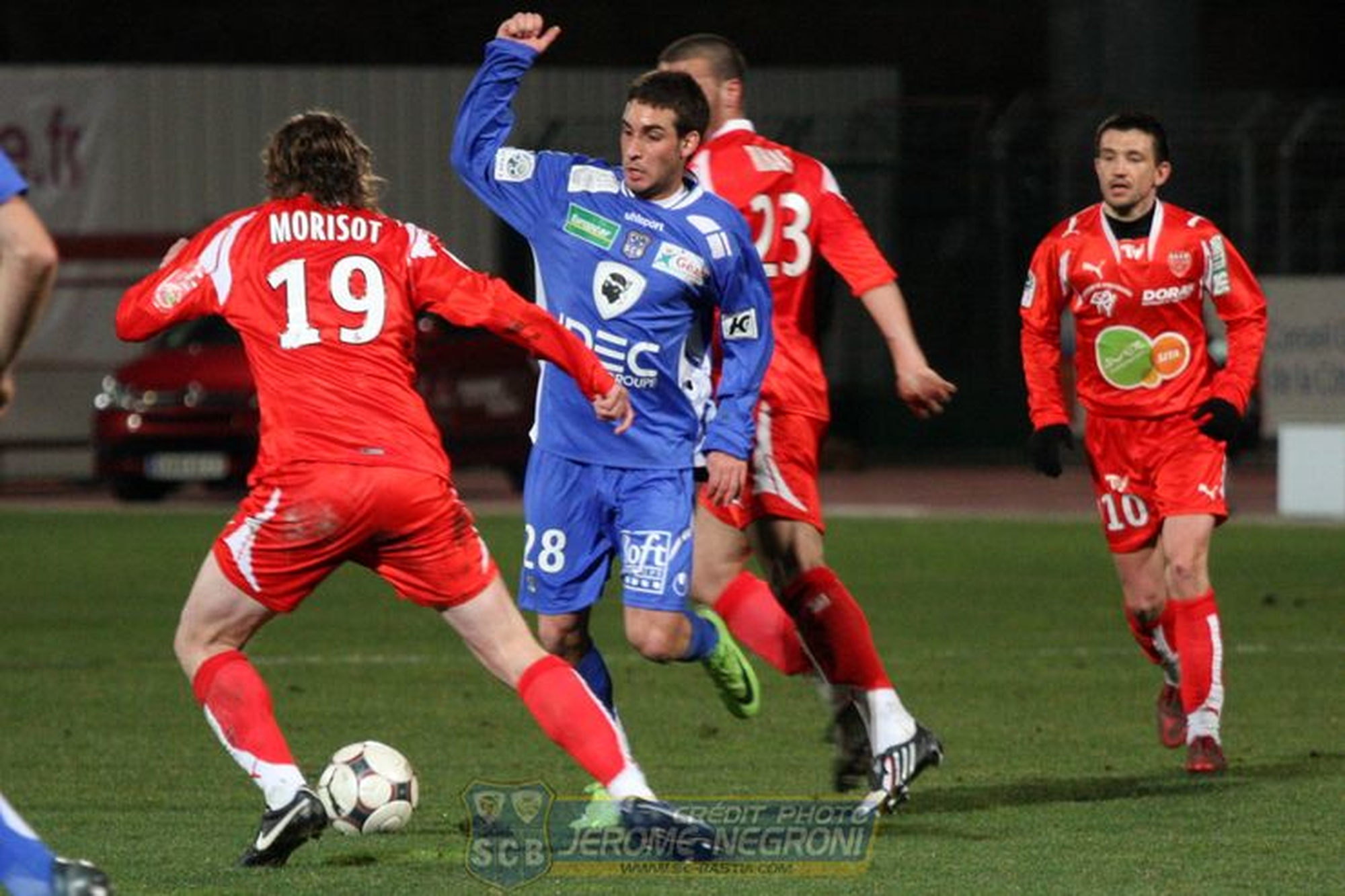 DIJON/SCB (Ligue 2)