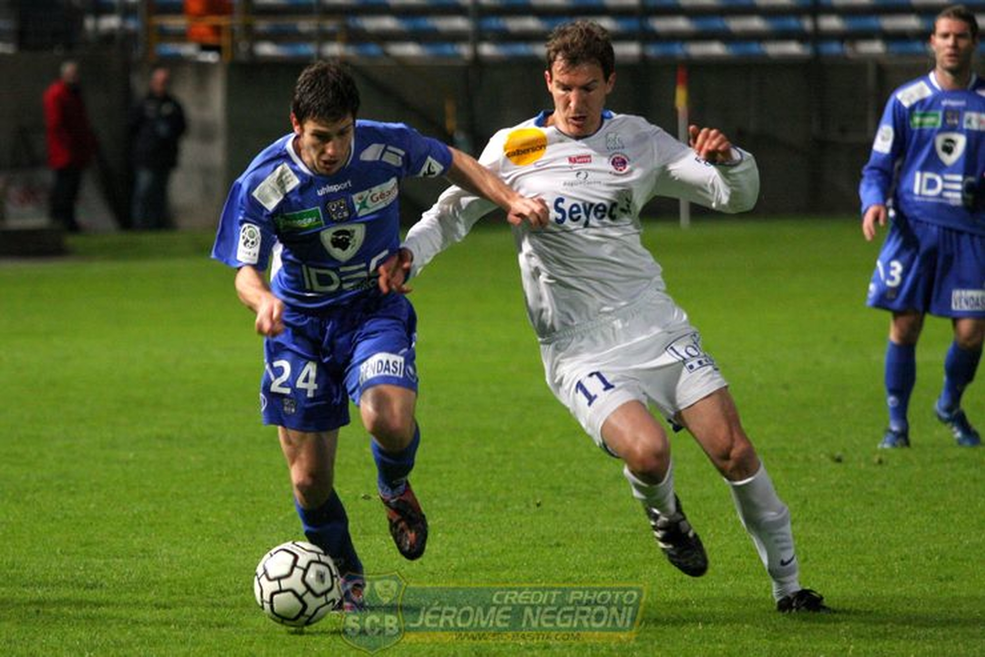 SCB/CHATEAUROUX (Ligue 2)