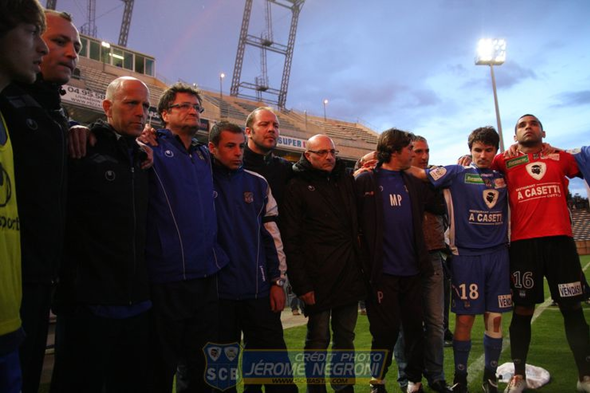 SCB/BREST (Ligue 2)