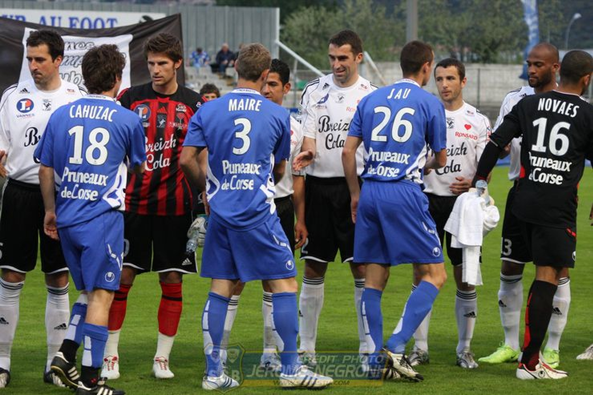 SCB/VANNES (Ligue 2)